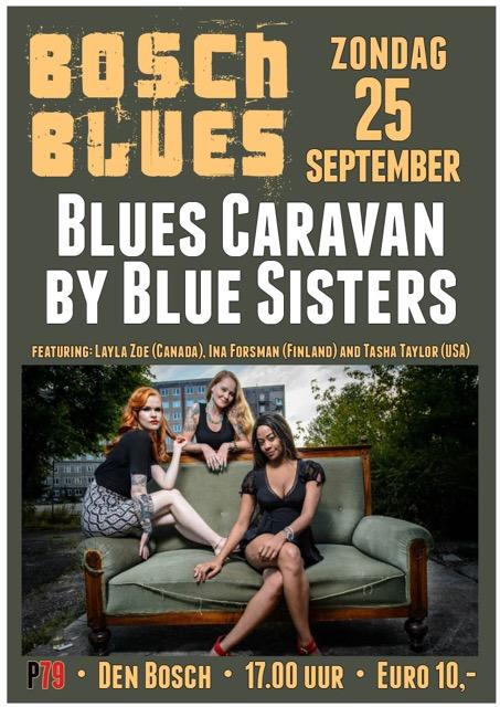 Bosch Blues: Blues Caravan by Blue Sisters